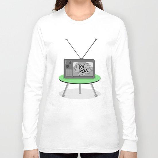 Kapow TV Long Sleeve T-shirt