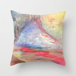 Preying for You Throw Pillow