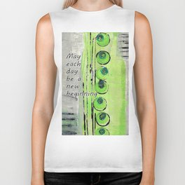 Coming Up Green Biker Tank