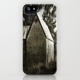 Old Dripstone Church iPhone Case