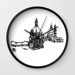 Venice Domes  Wall Clock