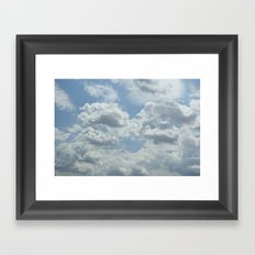 Dream Clouds Framed Art Print