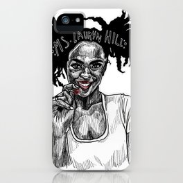 Ms. Lauryn Hill iPhone Case