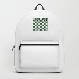 Awesome Distressed Vintage Chess Board Grand Master Backpack