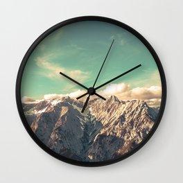 Alpine Magic Wall Clock