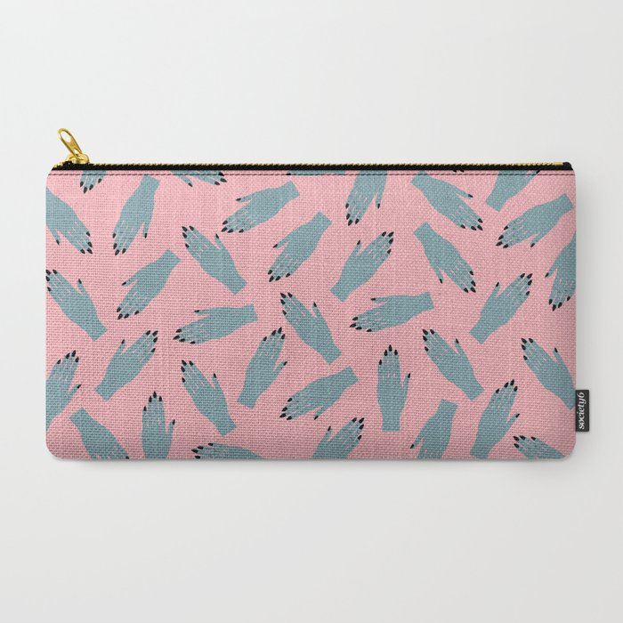 Vampy Hands Carry-All Pouch