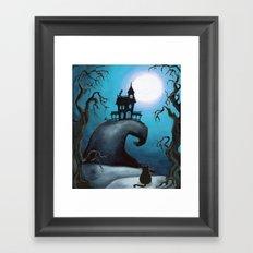 Halloween Night Framed Art Print