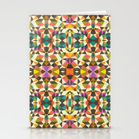 mod Stationery Cards featuring Mod Tribal by Beth Thompson