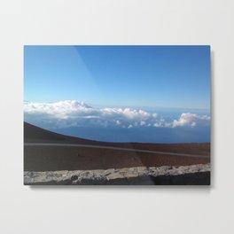 Maui Cloud Ride Metal Print
