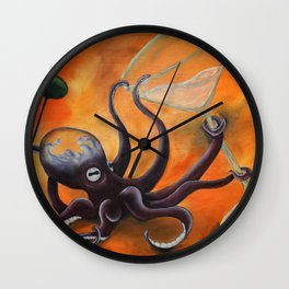 Pussy Liquor Wall Clock