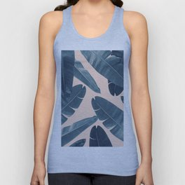 Banana Leaves - Cali Vibes #3 #tropical #decor #art #society6 Unisex Tank Top