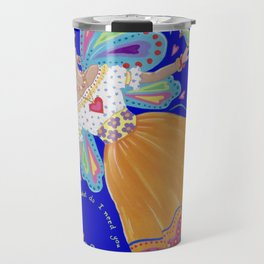 I have wings to fly Travel Mug