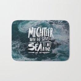 Mightier than the Sea Bath Mat