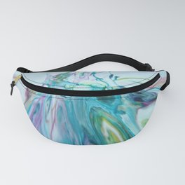 Speed of Light - Abstract Acrylic Art by Fluid Nature Fanny Pack