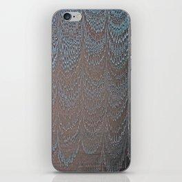 Raining Snow Water Marbling iPhone Skin