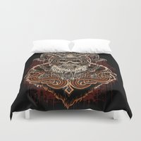 viking Duvet Covers featuring VIKING by Demones