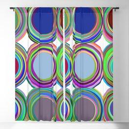 3x3 008 - paint cans Blackout Curtain