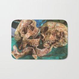 Catacomb Culture - Human Skulls Bath Mat