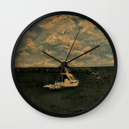 Jetty Park From the pier Wall Clock