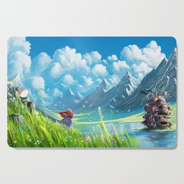 Howls Moving Castle Cutting Board