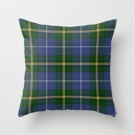 Tartan Of Nova Scotia Throw Pillow