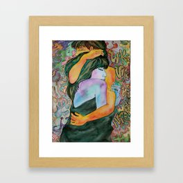 Couple of Lovers Framed Art Print