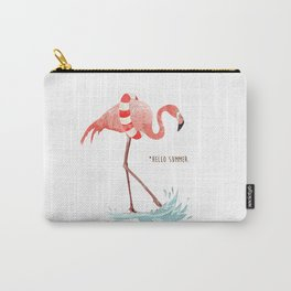 Flamingo - Hello Summer Carry-All Pouch