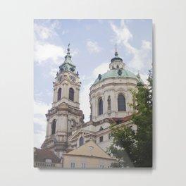 Church in Prague Metal Print
