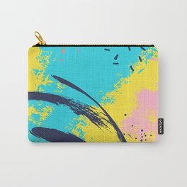 Yellow contrast splash Carry-All Pouch