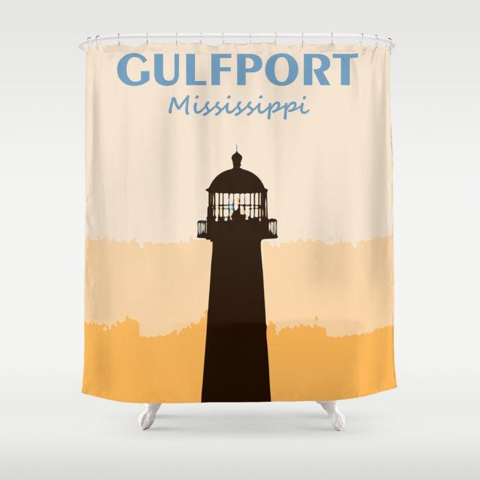 Gulf Shores - Alabama. Shower Curtain