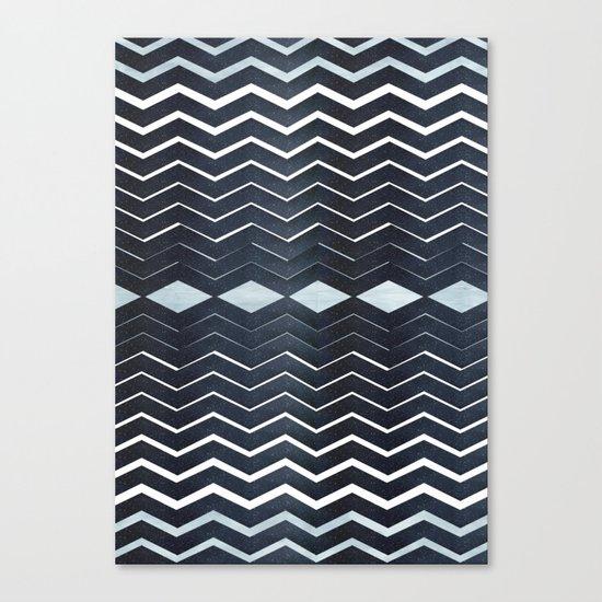 ELEGANT IN BLUE Canvas Print