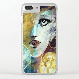 Jezebel Clear iPhone Case