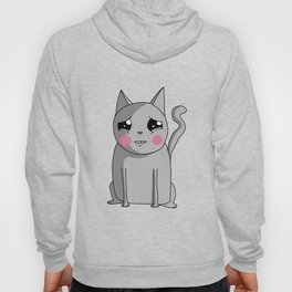 Cat with the Sad Eyes Hoody