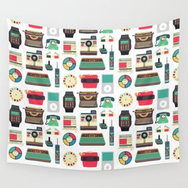 RETRO TECHNOLOGY 2.0 Wall Tapestry