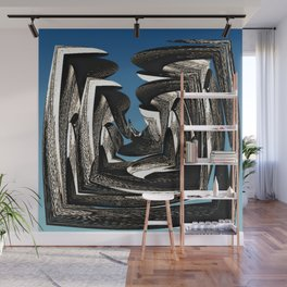 Structure Wall Mural