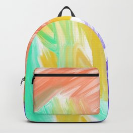 Abstract 2 Painting in Oil Backpack