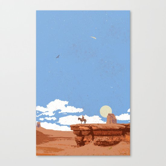 OUT WEST Canvas Print