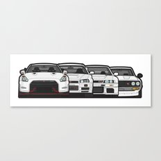 SKYLINE GT-R Canvas Print