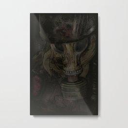 Man of darkness Metal Print
