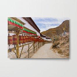 Tibet: Tashilumpo Monastery Metal Print