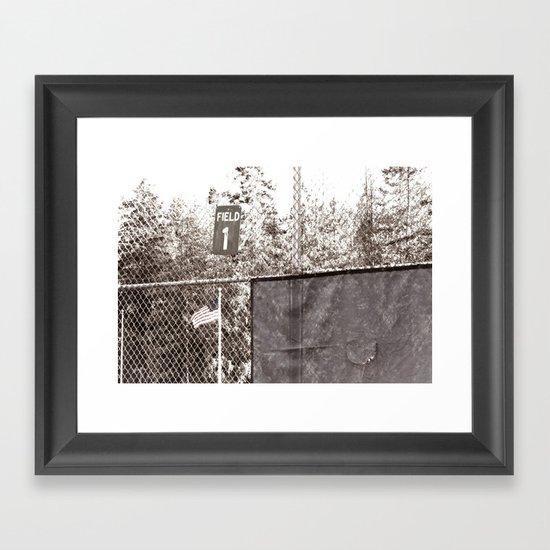 Field 1 Framed Art Print