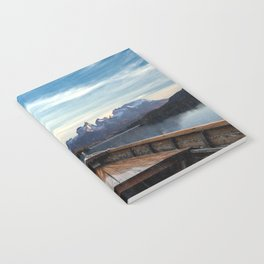 Torres del Paine National Park Chile, The Boat in Patagonia Notebook