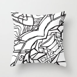 Stairs to Infinity Throw Pillow