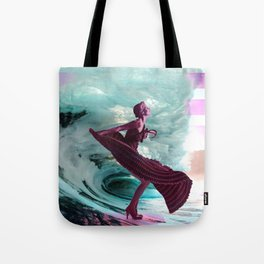 If you're not making waves, you're not underway Tote Bag
