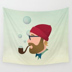 Soap bubble Hipster Wall Tapestry