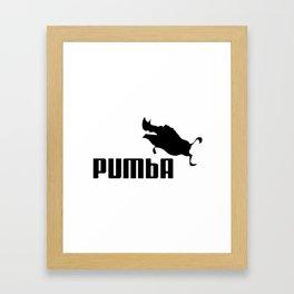 Pumba Framed Art Print