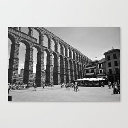 Aqueduct, Segovia, Spain Canvas Print