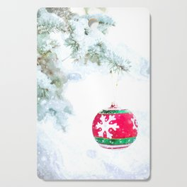 Christmas Ornament Cutting Board