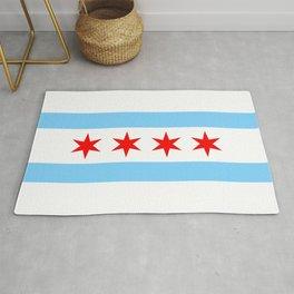 Chicago Flag Rug