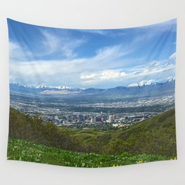 Salt Lake City Wall Tapestry